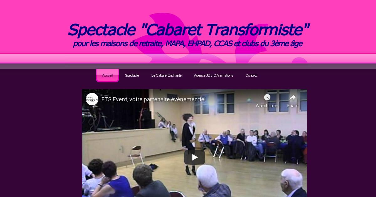 spectacle animation cabaret transformiste pour les maisons de retraite mapa ehpad ccas et
